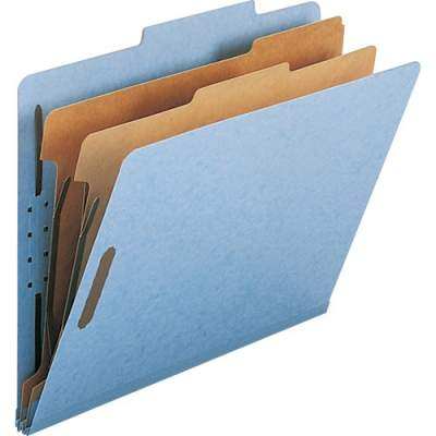 Smead 100% Recycled Pressboard Colored Classification Folders (14021)