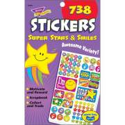 TREND Super Stars/Smiles Sticker Pad (T5010)