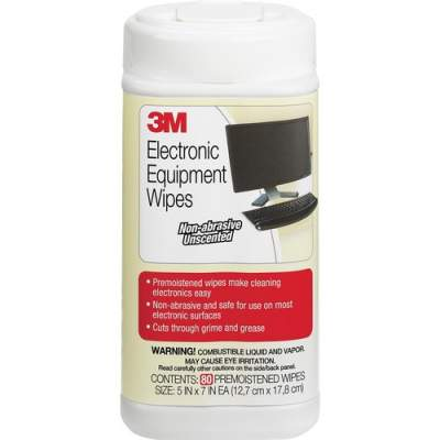 3M Premoistened Electronic Cleaning Wipes (CL610)