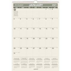 AT-A-GLANCE 100% PCW Monthly Wall Calendar (PM3G28)