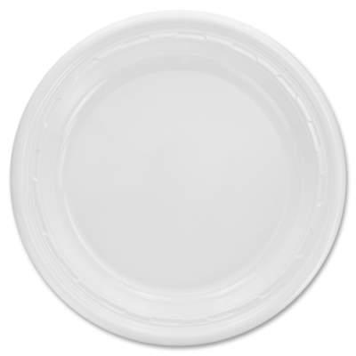 Dart Famous Service Impact Plastic Plate (10PWF)