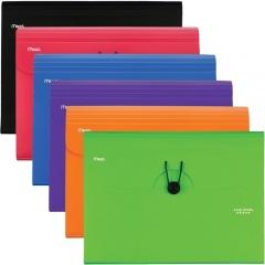 Five Star 6 Pocket Plastic Expanding File (35552)