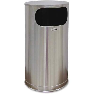 Rubbermaid Commercial 12-gal Steel Flat Top Container (SO16SSSGL)