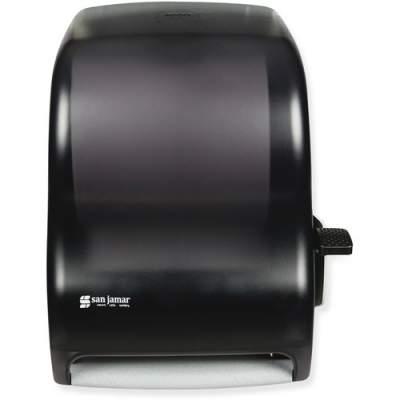 San Jamar Lever-action Jam-resistant Towel Dispenser (T1100TBK)