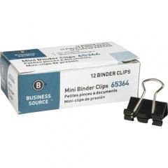 Business Source Fold-back Binder Clips (65364)