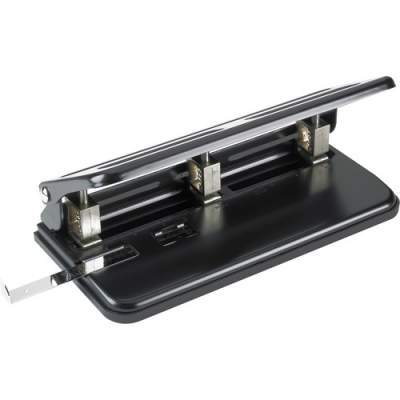 Business Source Heavy-duty 3-hole Punch (65625)