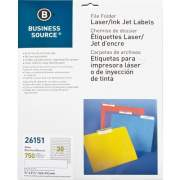 Business Source Laser/Inkjet Permanent File Folder Labels (26151)