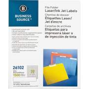 Business Source Laser/Inkjet File Folder Labels (26102)