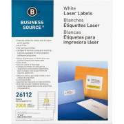 Business Source Bright White Premium-quality Address Labels (26112)