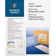 Business Source Bright White Premium-quality Address Labels (26114)