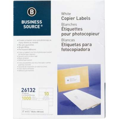 Business Source Copier Shipping Labels (26132)