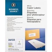 """Business Source 8-1/2""""x11"""" Copier Labels (26133)"""