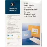Business Source Bright White Premium-quality Shipping Labels (26116)