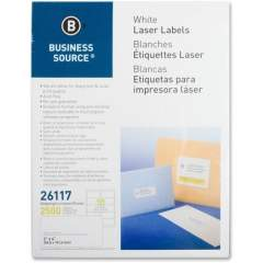 Business Source Bright White Premium-quality Shipping Labels (26117)