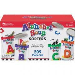 Learning Resources Alphabet Soup Sorters Skill Set (LER6801)