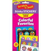 TREND Colorful Favorites Stinky Stickers Pack (T6481)