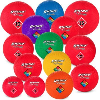 Champion Sports Multi-Size Playground Ball Set (UPGSET1)