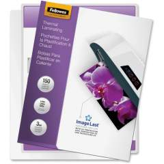 Fellowes Thermal Laminating Pouches - ImageLast, Jam Free, Letter, 3mil, 150 pack (5200509)