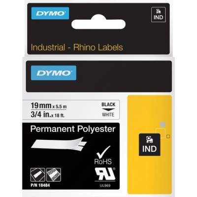 Newell Rubbermaid Dymo Permanent Polyester Labels (18484)