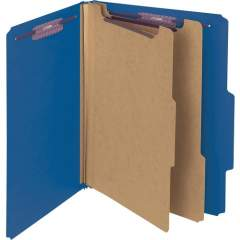 Smead Press Guard Classification Folders with SafeSHIELD Coated Fastener Technology (14200)