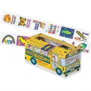 Pacon Self-adhesive School Bus Rewards Stickers (51450)
