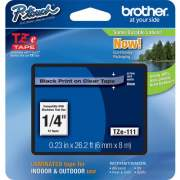Brother P-touch TZe Laminated Tape Cartridges (TZE111)
