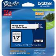 Brother P-touch TZe Laminated Tape Cartridges (TZE231)