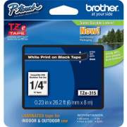 Brother P-touch TZe Laminated Tape Cartridges (TZE315)