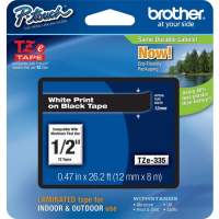 Brother P-touch TZe Laminated Tape Cartridges (TZE335)