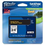 Brother P-Touch TZe Flat Surface Laminated Tape (TZE344)