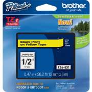 Brother P-touch TZe Laminated Tape Cartridges (TZE631)