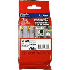 """Brother Extra Strength Adhesive 3/4"""" Lamntd Tapes (TZES241)"""
