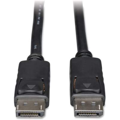 Tripp Lite 3ft DisplayPort Cable with Latches Video / Audio DP 4K x 2K M/M (P580-003)