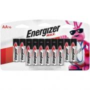 Energizer MAX Alkaline AA Batteries, 16 Pack (E91LP-16)