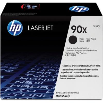 HP 90X High Yield Black Original LaserJet Toner Cartridge (CE390X)