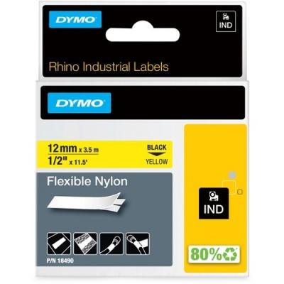 Newell Rubbermaid Dymo Rhino Flexible Nylon Labels (18490)
