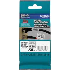 Brother Flexible Cable/Wire TZe ID Tape (TZEFX231)