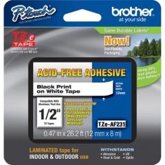 Brother Adhesive Acid-free TZ Tape (TZEAF231)