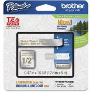 "Brother PTouch 1/2"" Laminated TZe Tape (TZEMQ934)"