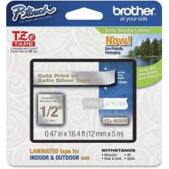 "Brother PTouch 1/2"" Laminated TZe Tape (TZEMQ934)"