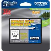 Brother TZ Super Narrow Non-laminated Tapes (TZEN201)