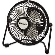 Newell Rubbermaid Holmes HNF0410A-BM Mini High-Veloc. Personal Fan