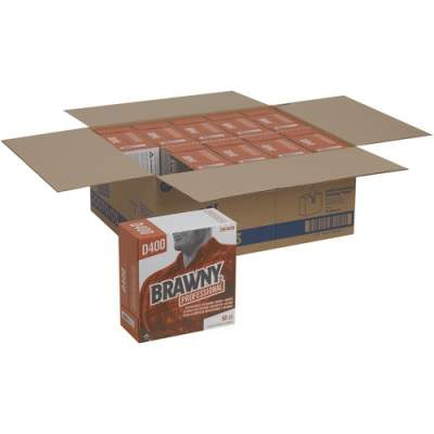 Brawny Professional D400 Disposable Cleaning Towels by GP Pro in Tall Box (2007003CT)