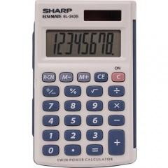 Sharp EL-243SB 8-Digit Pocket Calculator