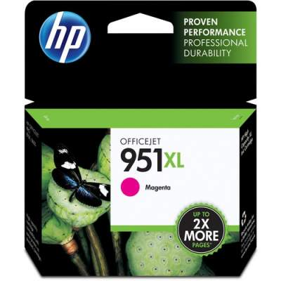 HP 951XL High Yield Magenta Original Ink Cartridge (CN047AN)