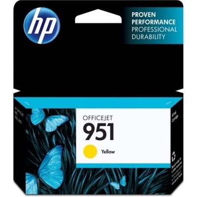 HP 951 Yellow Original Ink Cartridge (CN052AN)
