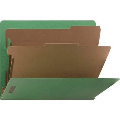 Nature Saver Recycled End Tab Classification Folders (SP17373)