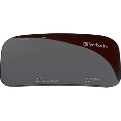 Verbatim Universal Card Reader, USB 2.0 - Black (97705)