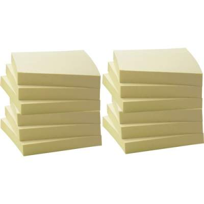 Business Source Yellow Adhesive Notes (36620)