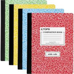 TOPS Wide Ruled Composition Books (63794)